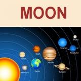 כוכבי הלכת - הירח